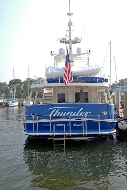 Yacht renovation, Newport, RI